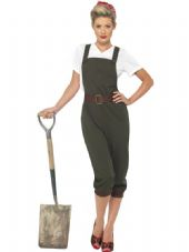 1940's Land Girl Costume